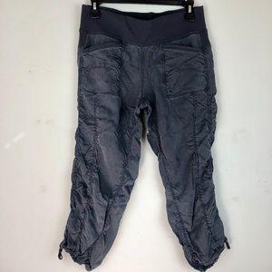 Lululemon Joggers Wide Waist Bank Ruched Pants